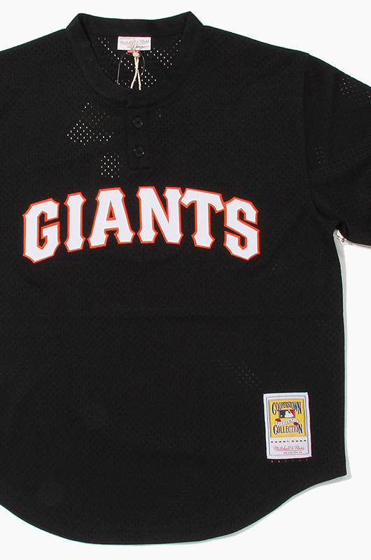 M&N Mesh BP Jersey Giants