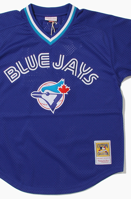 M&N Mesh BP Jersey Blue Jays