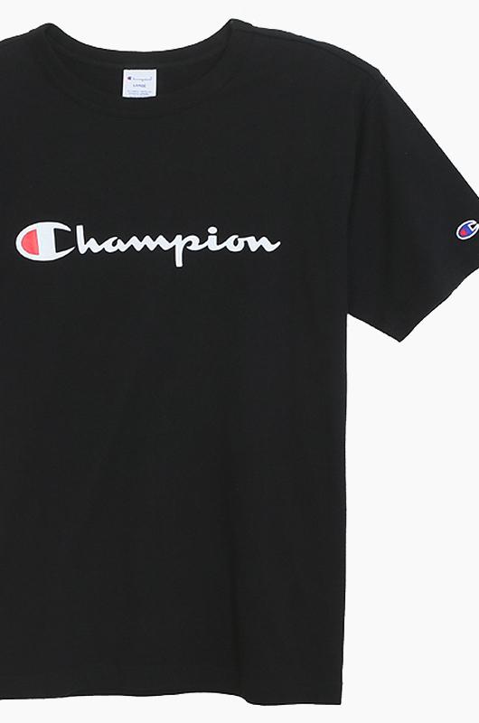 CHAMPION (JAPAN)Basic T-Shirt (C3-H374) Black