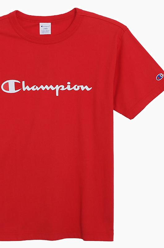 CHAMPION (JAPAN) Basic T-Shirt (C3-H374) Red