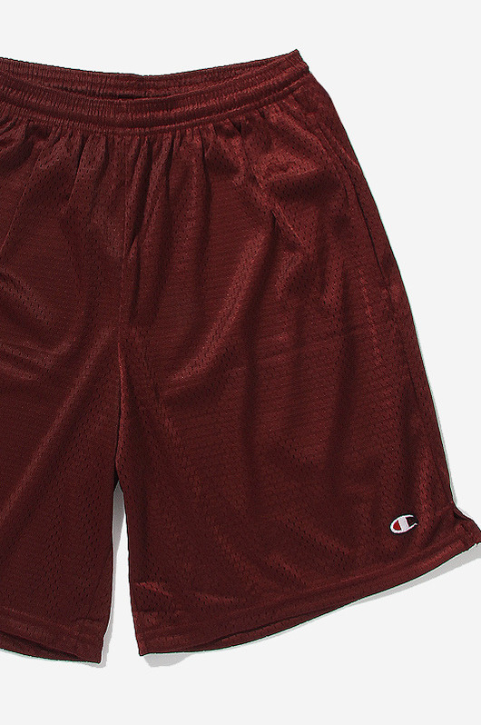CHAMPION Long Mesh Short Maroon