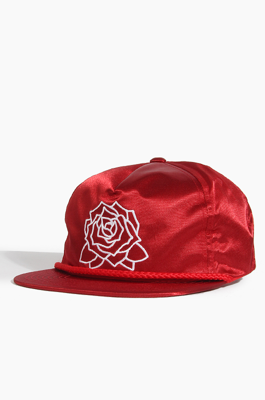 OBEY Mira Rosa Snapback Red
