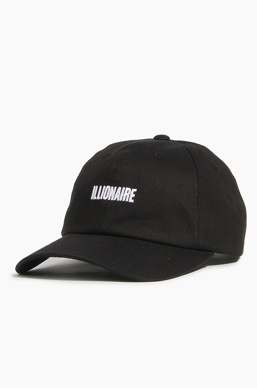 ILLIONAIRE Ballcap Black