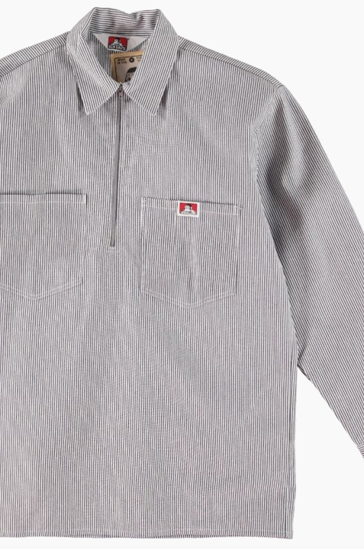 BENDAVIS Long Sleeve Stripe Hickory