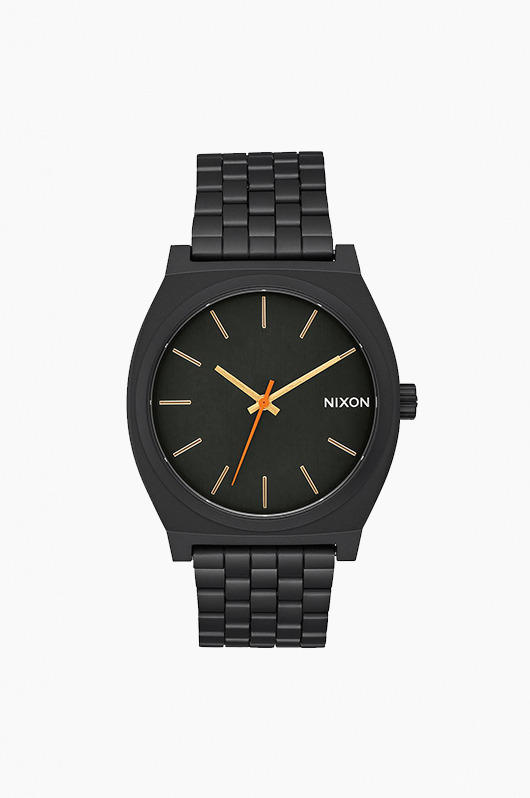 NIXON Time Teller All Black/Surplus