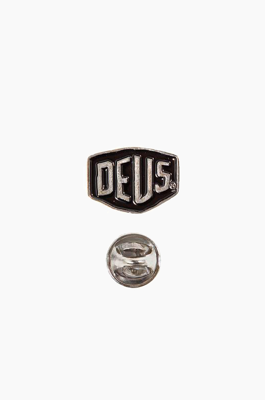 DEUS Shield Badges Black