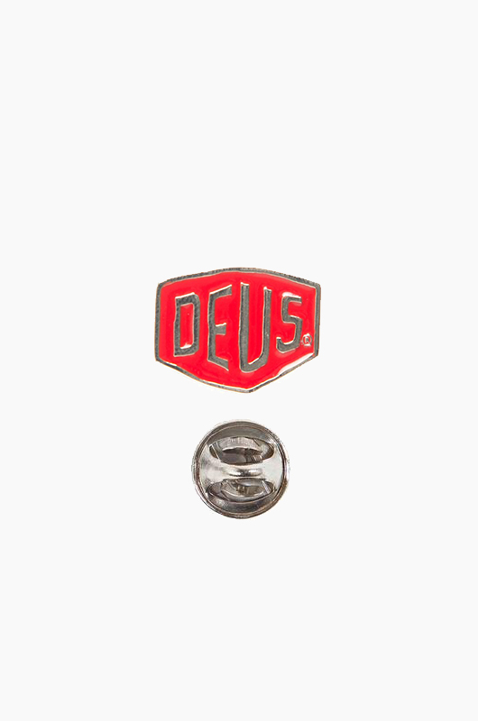 DEUS Shield Badges Red