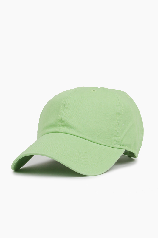 NEWHATTAN Cotton Ballcap Lime Green