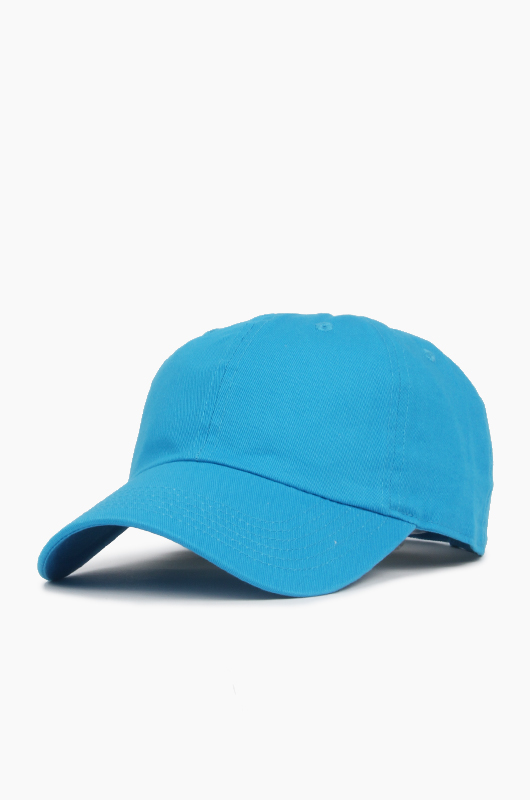 NEWHATTAN Cotton Ballcap Turquoise