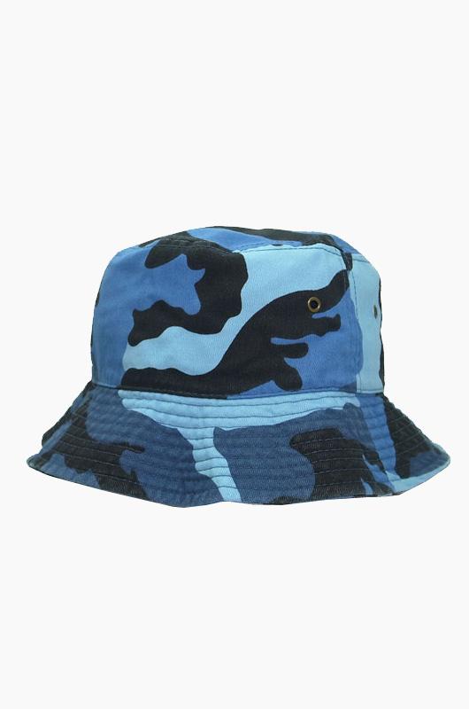 NEWHATTAN Bucket Blue Sky Camo
