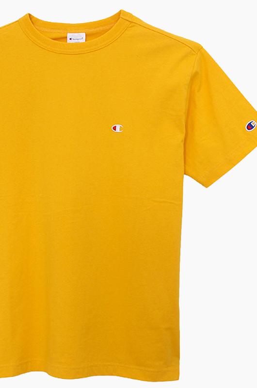 CHAMPION (JAPAN) Basic T-Shirt (C3-H359) Gold