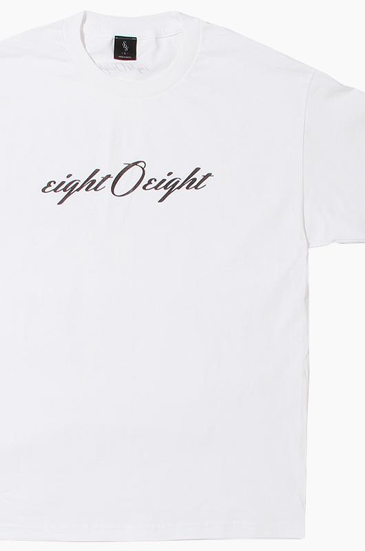 808 Eight O Eight S/S White