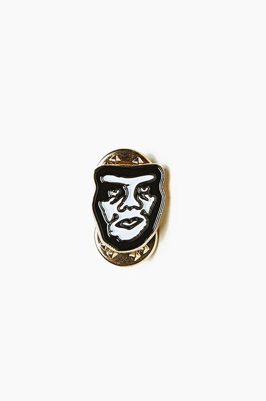 OBEY Creeper Pin White