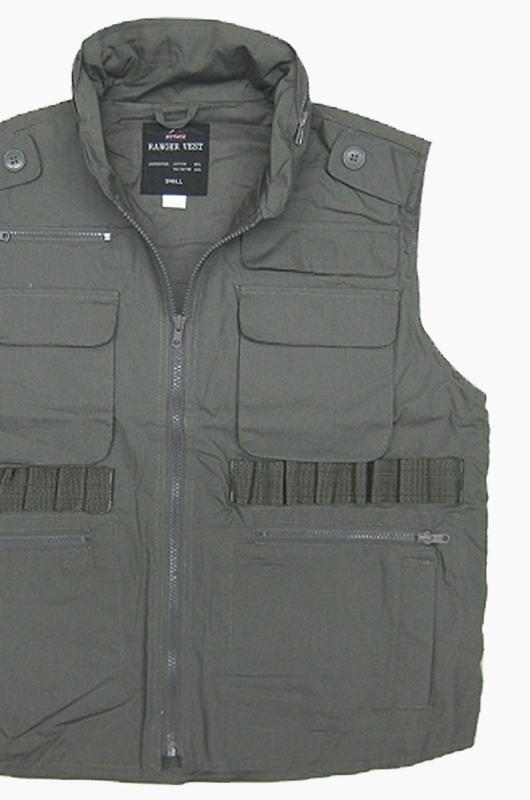 ROTHCO Ranger Vest Olive