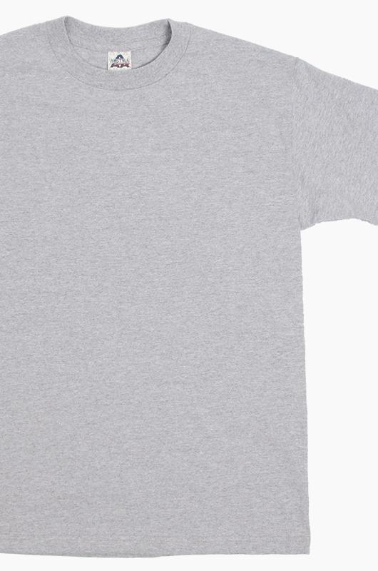 AAA Basic S/S H.Grey (1301)