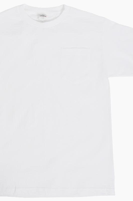 AAA Pocket S/S White