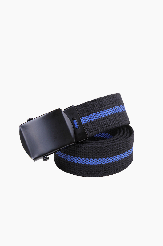 ROTHCO Thin Blue Line Belt Black