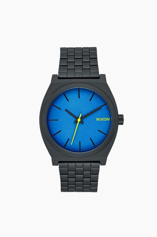 NIXON Time Teller All Black/Seaport Blue