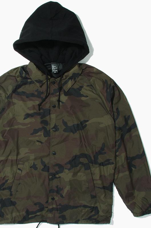 BEIMAR Coaches Jacket Fleece Hoodie Camo