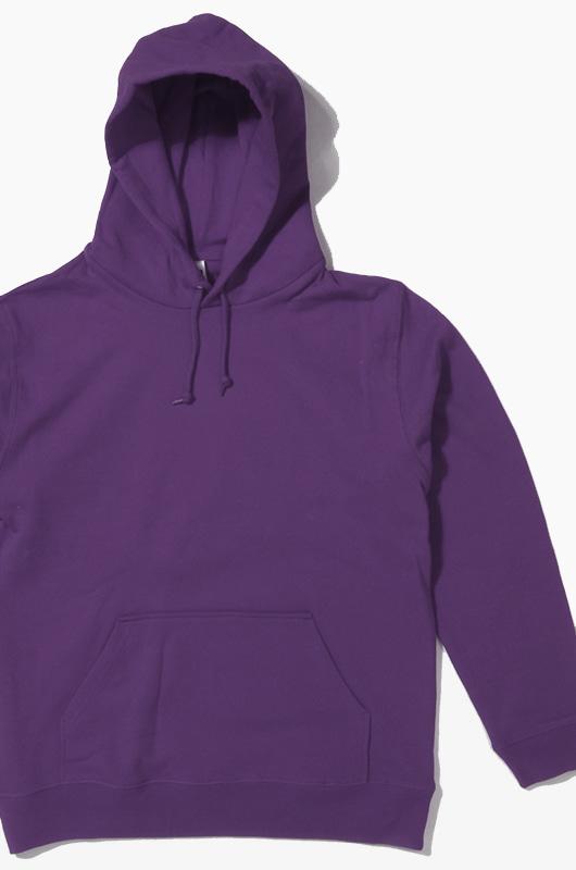 JELLAN Pullover Hoodie Purple