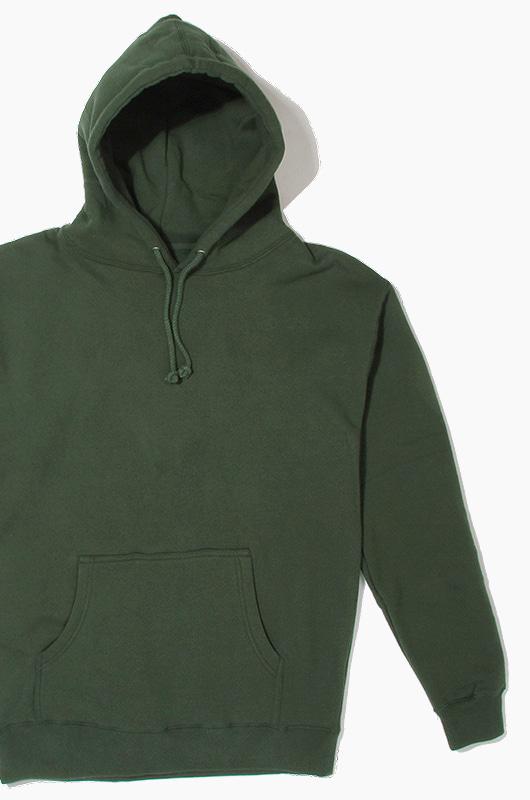 iNDEPENDENT Heavyweight Hood Alpine Green