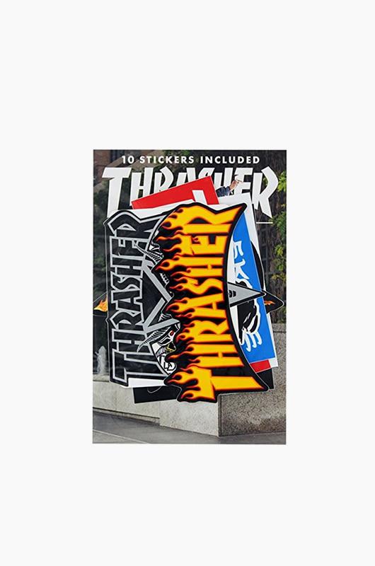 THRASHER Sticker 10pack