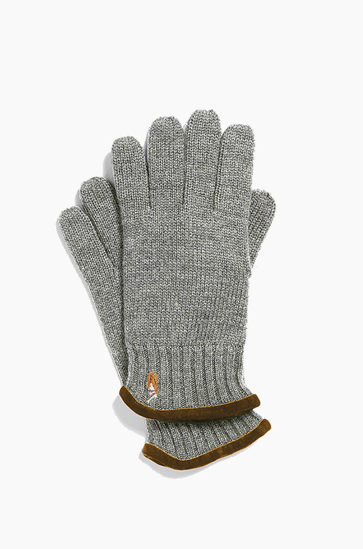 POLO Classic Lux Merino Glove Grey Heather