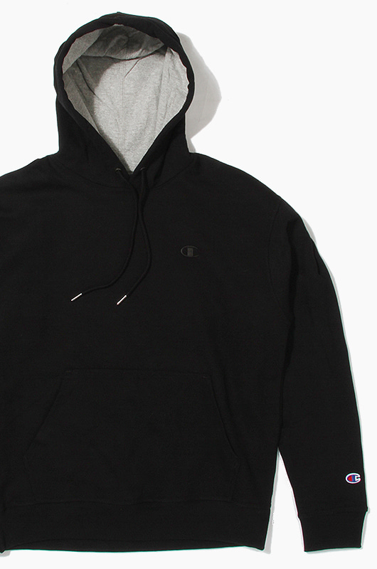 CHAMPION Powerblend Fleece Hoodie Black