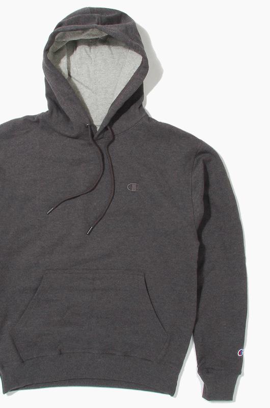 CHAMPION Powerblend Fleece Hoodie Charcoal
