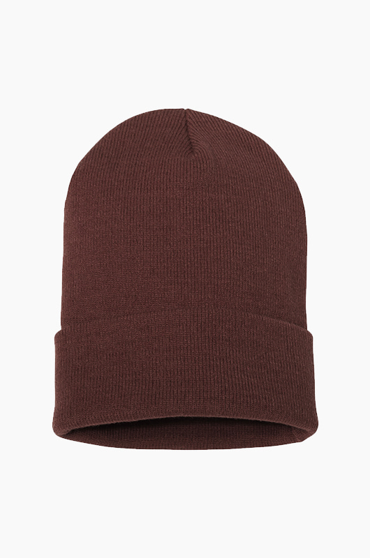 YUPOONG Basic Beanie Brown
