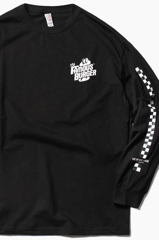 THE FAMOUS BURGER TFB L/S Black