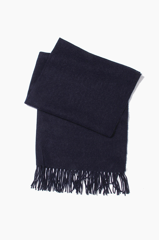 Plain Scarf Navy