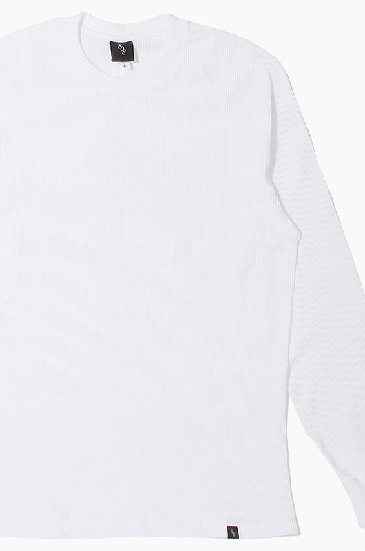 808 808 Thermal L/S White