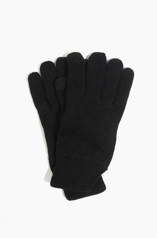 NEWHATTAN Knitted Touch Gloves Black