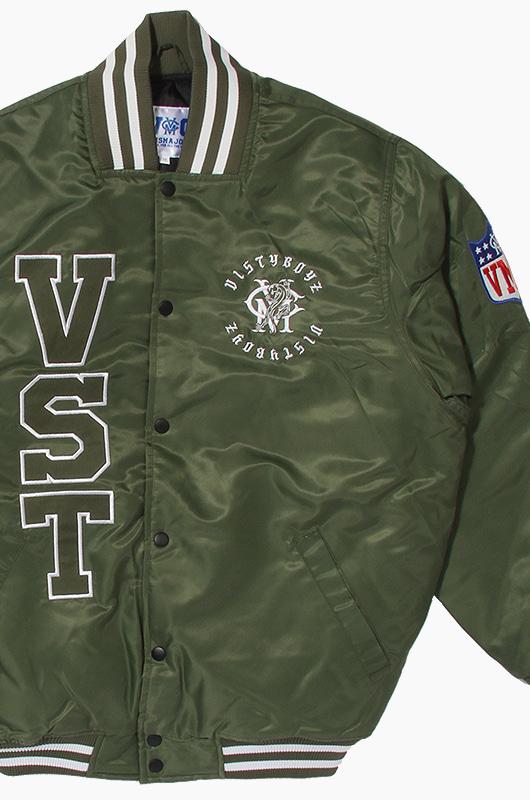 VMC VISTY VARSITY JKT Army