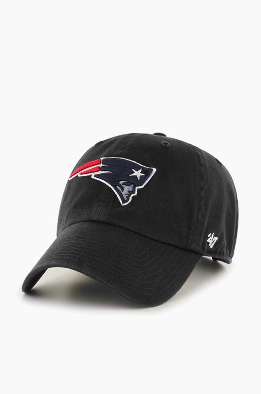 47BRAND NFL Clean Up Patriots Black