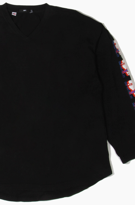 OBEY Can You Feel It l/s Black