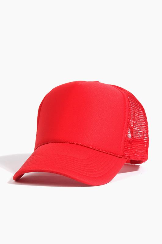 OTTO CAP  Mesh Cap Red