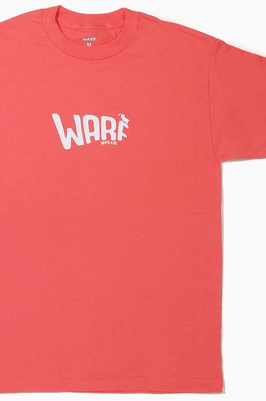 WARF Mfg Logo S/S Coral
