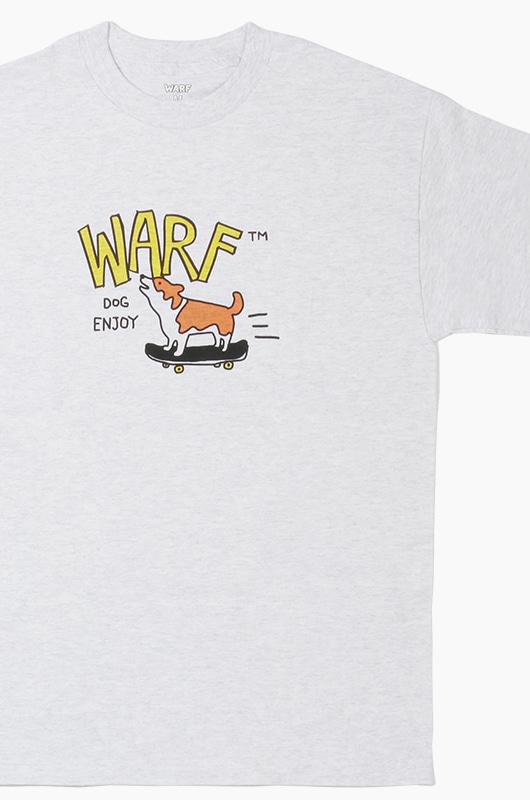 WARF Dog Enjoy s/s Ash