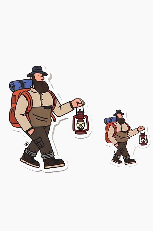 JEONHWANGIL (전황일) Sticker Camping