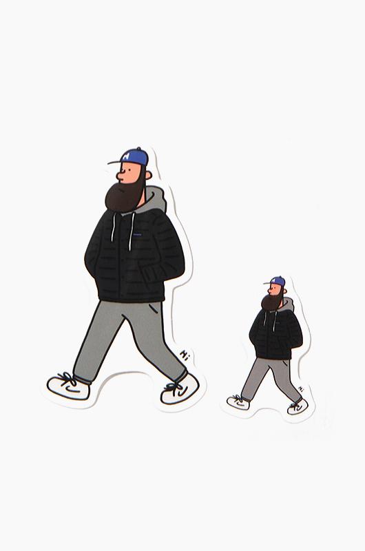 JEONHWANGIL (전황일) Sticker Walking