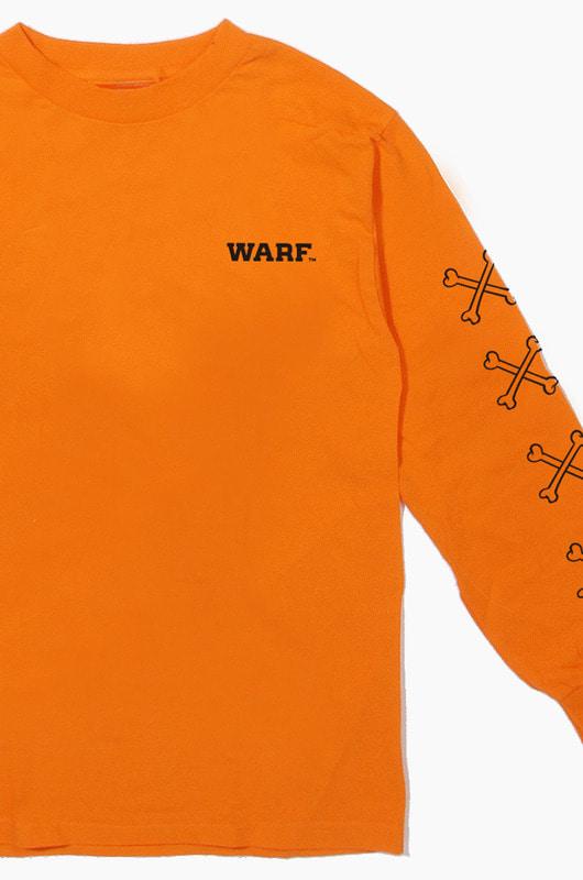 WARF Bone L/S Orange