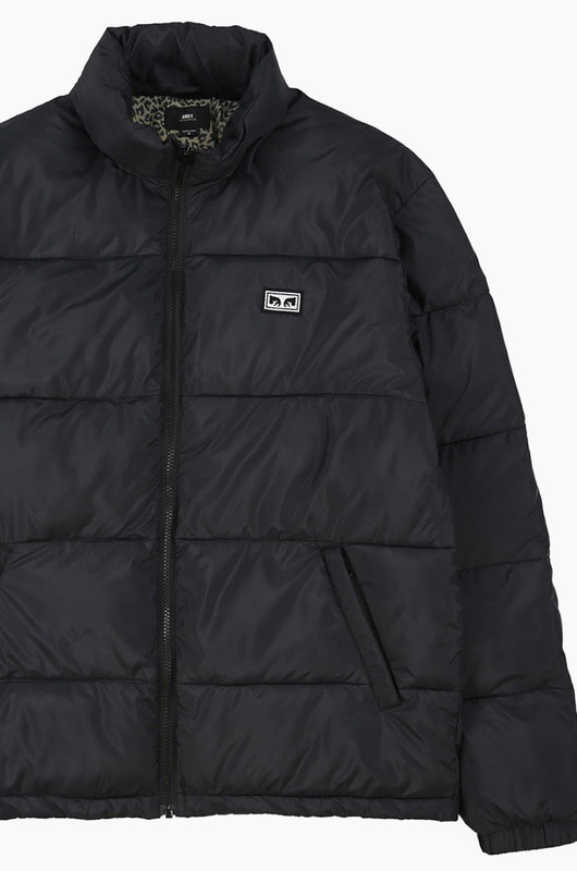 OBEY Bouncer Puffer Jacket Black
