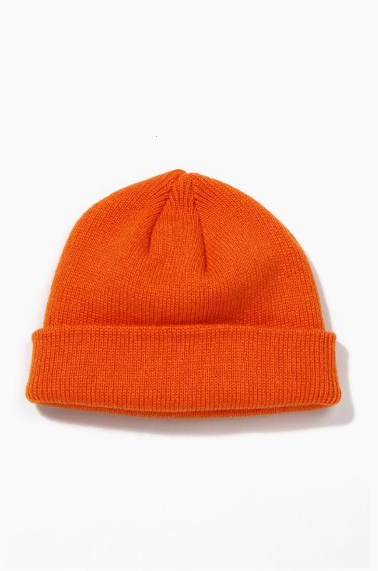 Plain Beanie Standard Orange