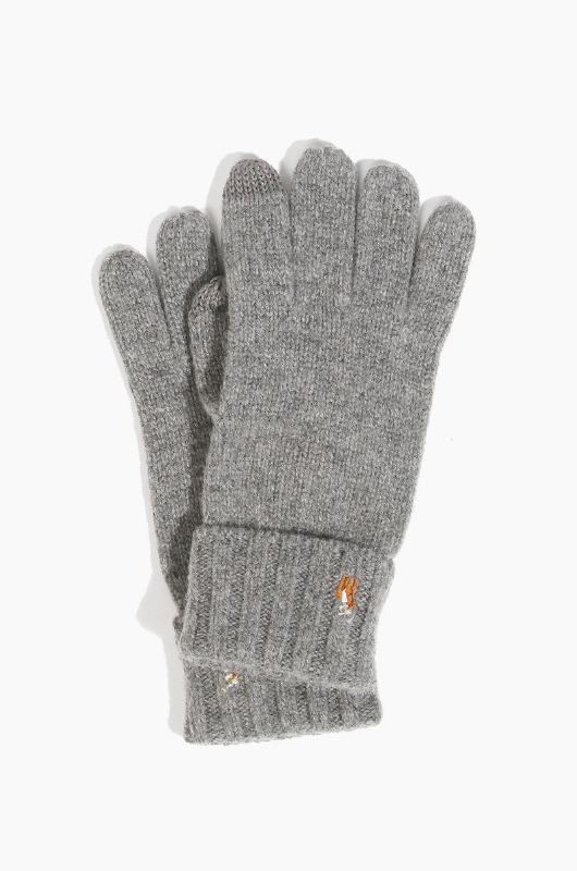 POLO Signature Merino Glove Grey