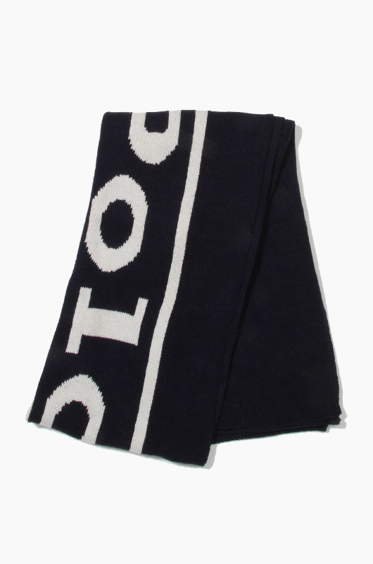 POLO Vintage Polo Label Scarf Navy/Cream