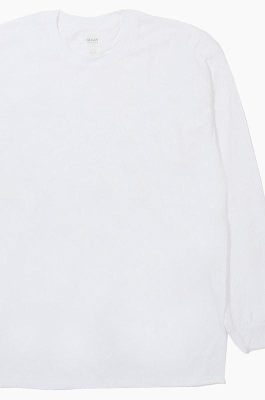 GILDAN 2400 Ultra Cotton L/S White