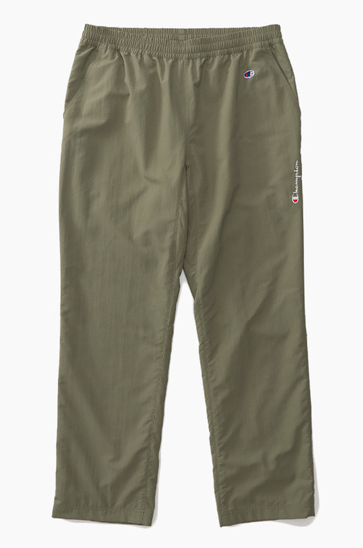 CHAMPION (JAPAN) Nylon Long Pants(C3-M208) Olive