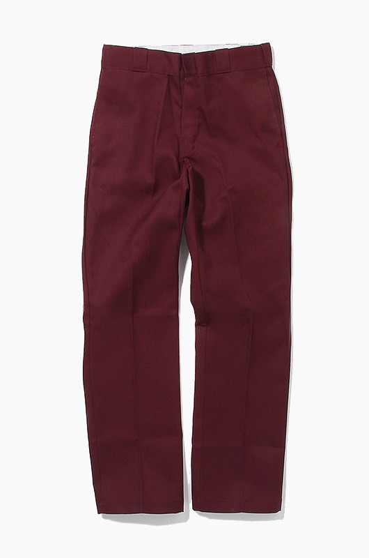 DICKIES 874 Original Fit Pants Maroon